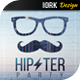 Minimal Hipster Party Flyer - GraphicRiver Item for Sale