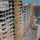 Flying Above Unfinished Buildings - VideoHive Item for Sale