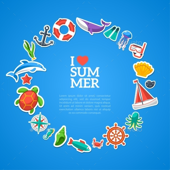 GraphicRiver Summer Concept 11179068