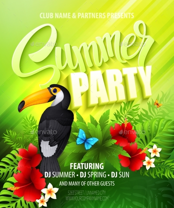 GraphicRiver Summer Party 11179206