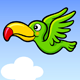 Flying Happy Bird Sprite Game Asset - GraphicRiver Item for Sale