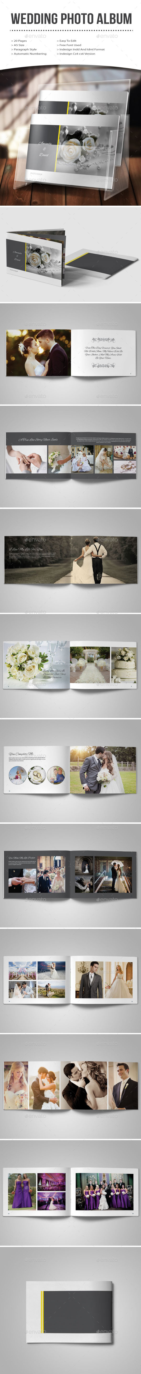 GraphicRiver Wedding Photo Album 11123039