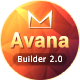 Avana - Responsive Email + MailBuild Online - ThemeForest Item for Sale