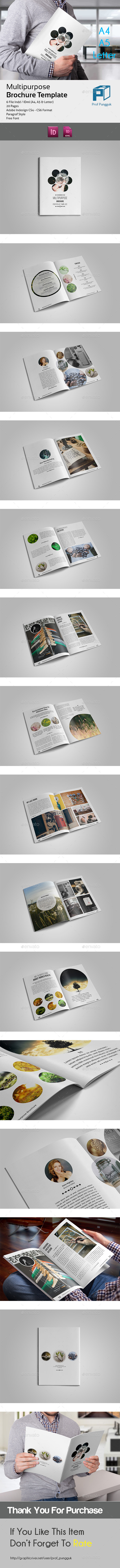 GraphicRiver Clean Multipurpose Brochure 11180100