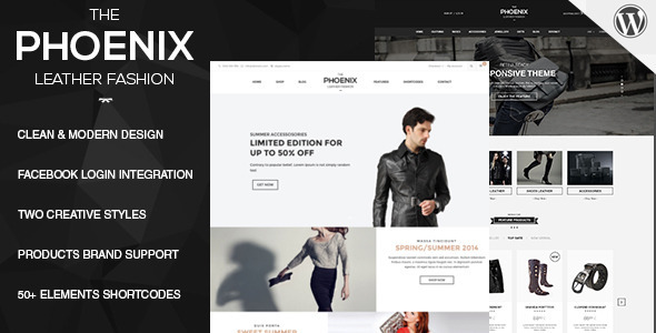 Phoenix – Responsive WooCommerce WordPress Theme