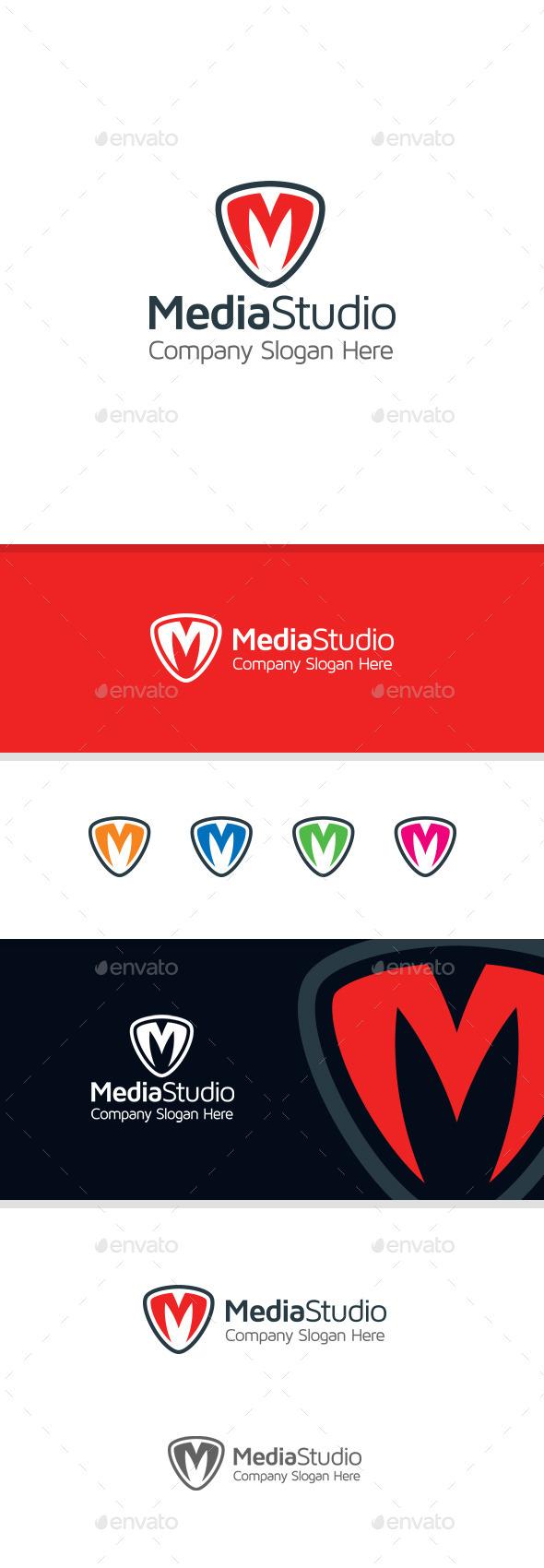 GraphicRiver M Letter Logo 11180905