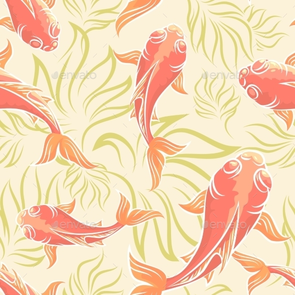 GraphicRiver Carp Pattern 11180925