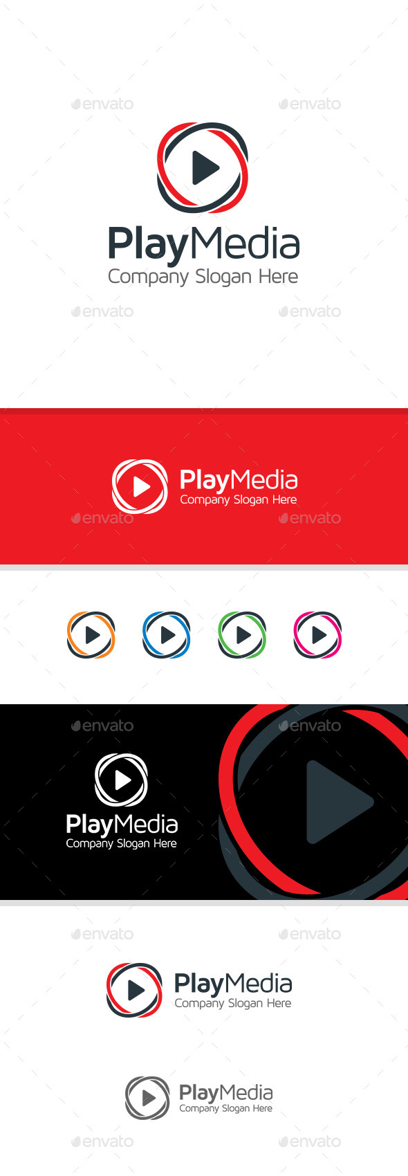 GraphicRiver Play Media Logo 11181035