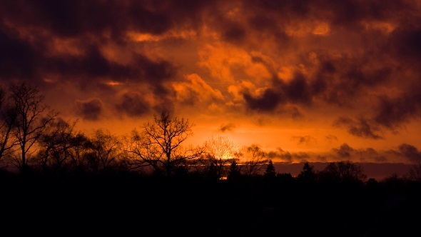 Sunset Evening Sky