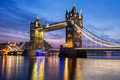Famous Tower Bridge in the evening - PhotoDune Item for Sale