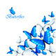 Blue Butterflies - GraphicRiver Item for Sale