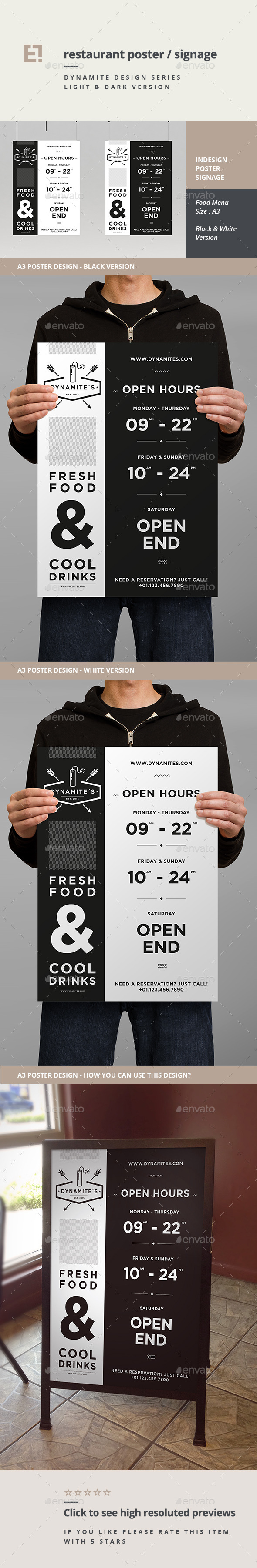 GraphicRiver Restaurant Poster 11181480