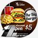 Food & Restaurant Web & Facebook Banners Ads - GraphicRiver Item for Sale