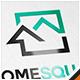 Home Square Real Estate Logo - GraphicRiver Item for Sale