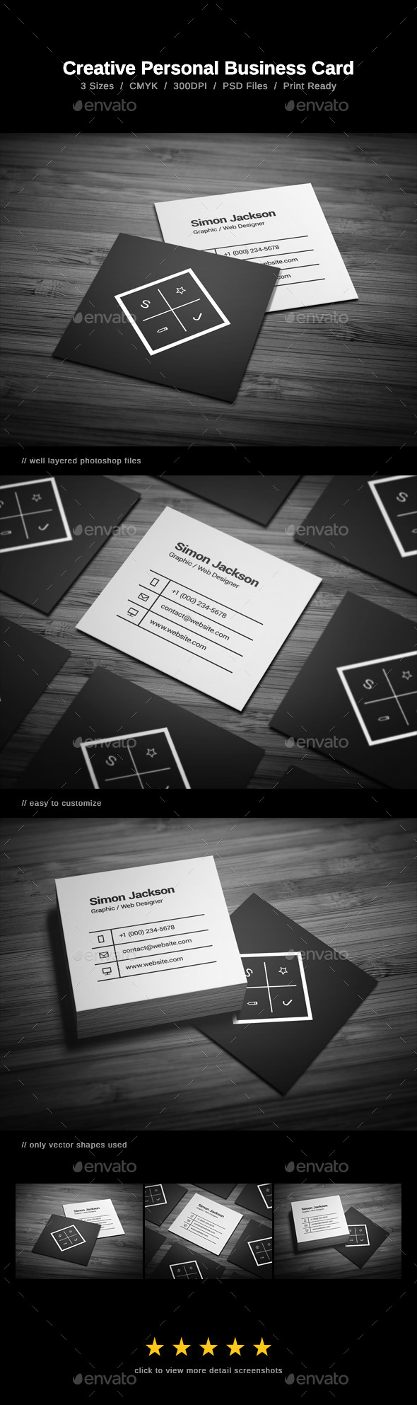 GraphicRiver Creative Personal Business Card 11182009