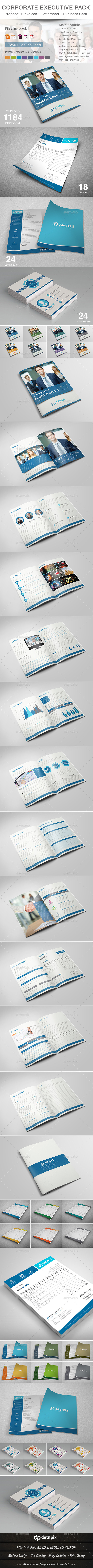 GraphicRiver Corporate Executive Pack 11123008
