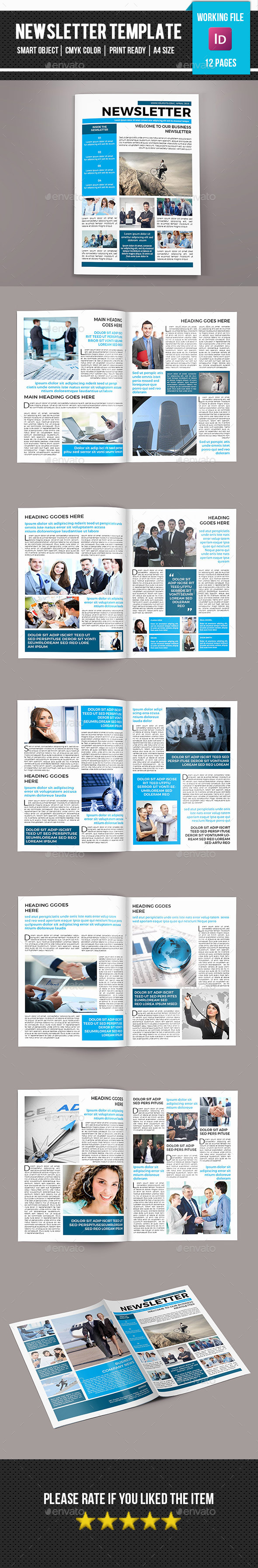 GraphicRiver Corporate Newsletter-V05 11182317
