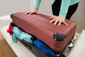 Close-up Of Woman With Suitcase - PhotoDune Item for Sale