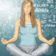 Woman Meditating in Lotus Pose - GraphicRiver Item for Sale