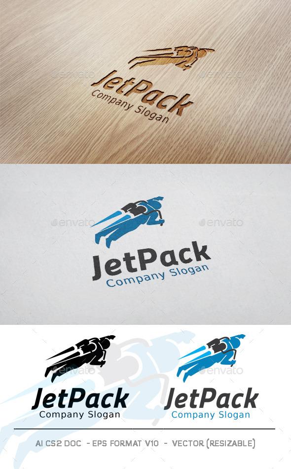 GraphicRiver Jetpack Logo 11182968
