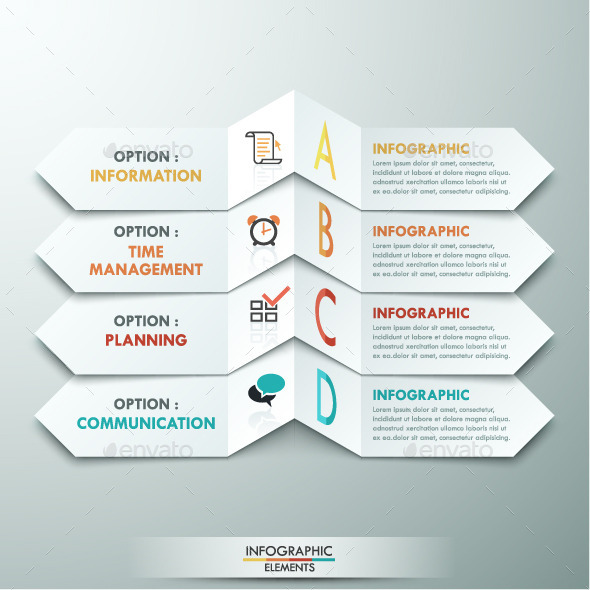 GraphicRiver Modern Infographic Paper Template 11183092
