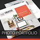 Creative Photo Portfolio Brochure - GraphicRiver Item for Sale