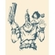 Character of Armed Man with Woman - GraphicRiver Item for Sale