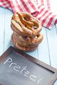 baked pretzels and chalkboard - PhotoDune Item for Sale