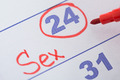 Date Marked For Sex On Calendar - PhotoDune Item for Sale