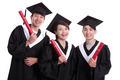 group of happy graduates student - PhotoDune Item for Sale