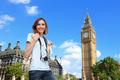 Happy travel woman in London - PhotoDune Item for Sale