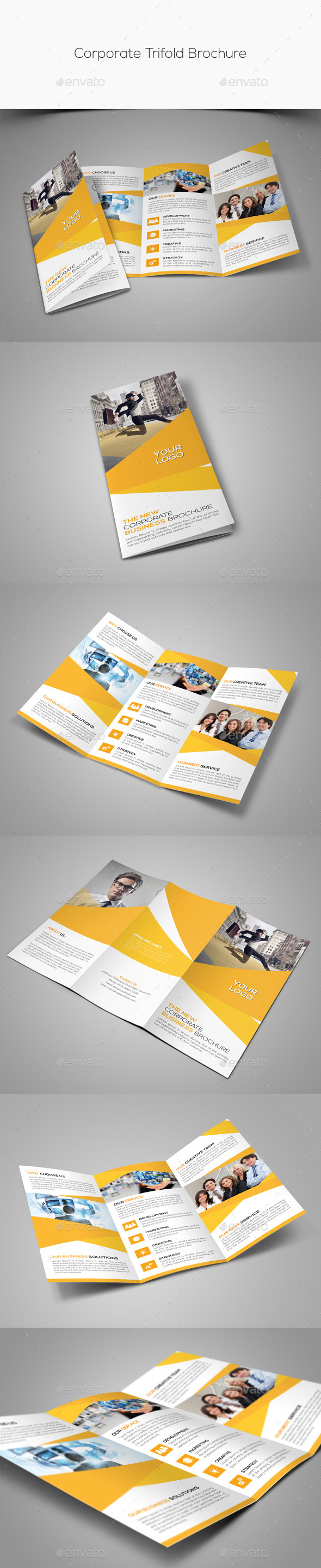 GraphicRiver Corporate Trifold Brochure 11183424