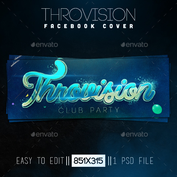 GraphicRiver Throvision Facebook Cover 11183429