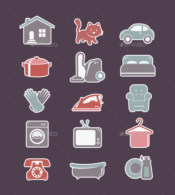 GraphicRiver House Cleaning and Household Appliances 11183438