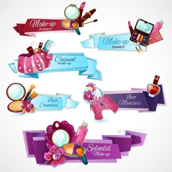 GraphicRiver Cosmetics Banner Set 11183739