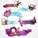 Cosmetics Banner Set - GraphicRiver Item for Sale