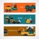 Mining Banners Set - GraphicRiver Item for Sale