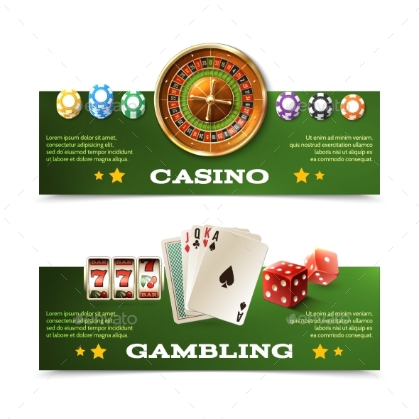 GraphicRiver Casino Banners Set 11183745