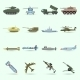 Army Icons Set - GraphicRiver Item for Sale