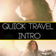 Quick Travel Intro - VideoHive Item for Sale
