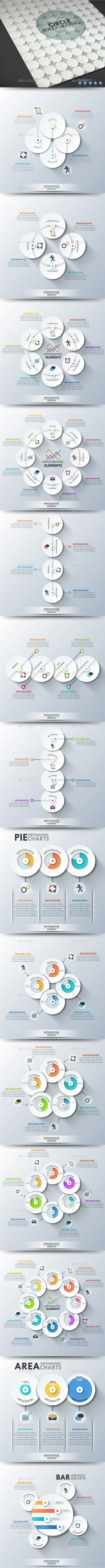 GraphicRiver Circle Infographics 11184581