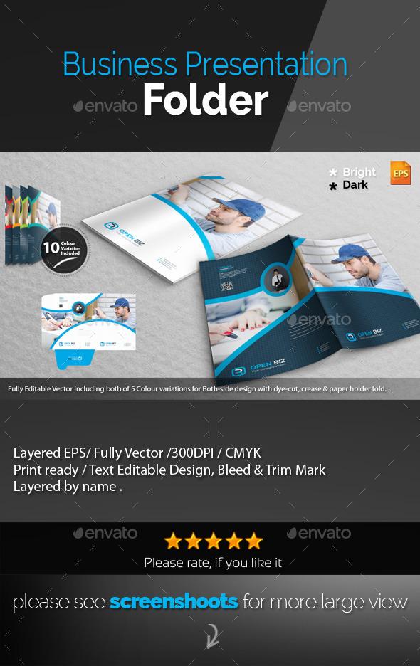 GraphicRiver Corporate Presentation Folder 11184802