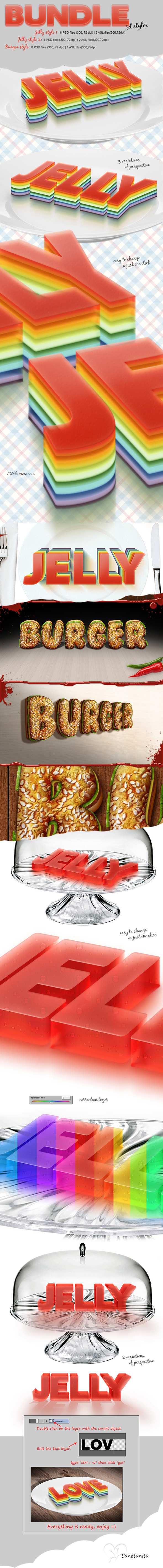 GraphicRiver Bundle 3D Styles 11184885