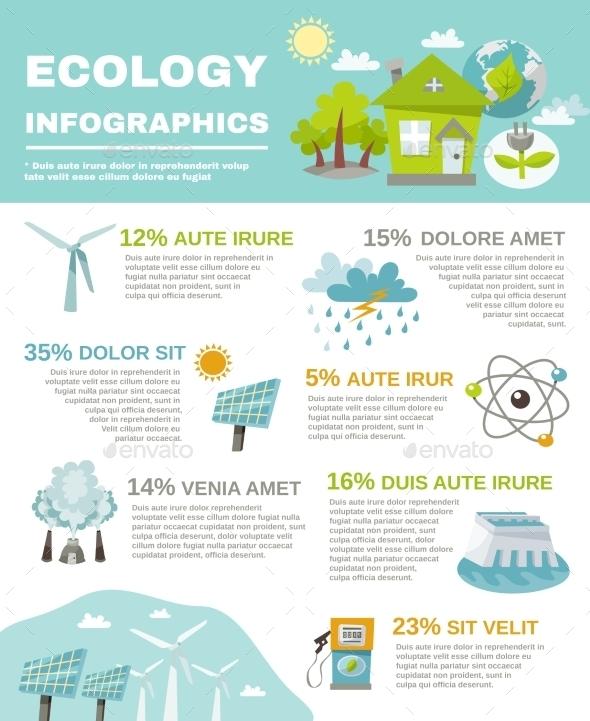GraphicRiver Eco Energy Infographics 11186463