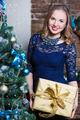 Portrait of smiling woman - PhotoDune Item for Sale