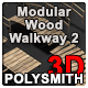 Modular Wood Walkway or Jetty Part 2