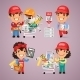 Workers Purchases Materials for Repair - GraphicRiver Item for Sale
