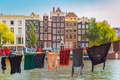 Amsterdam canal, Netherlands, Netherlands - PhotoDune Item for Sale