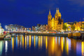 Night Amsterdam canal and Basilica Saint Nichola - PhotoDune Item for Sale