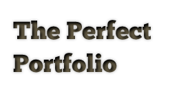 The Perfect Portfolio